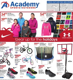 Academy Sports Pre-Black Friday deals. Gear Up for the Holidays