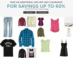 American Eagle Pre-Black Friday 2013 Deals. Take an Additional 40% Off Clearance