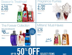 Pre-Black Friday 2013 Sale for Bath and Body Works. Fragrance Flurries + Up to 50% Off