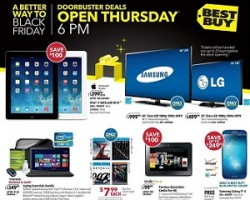 Best Buy Black Friday Deals 2013 – Kindle Fire Tablet, Playstation Game Console