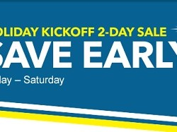Best Buy Holiday Kickoff 2-Day Sale. Deals valid starting Friday and are good until Sunday