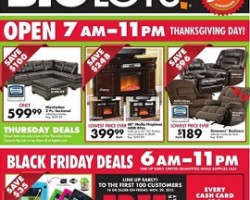 Big Lots Black Friday 2013 Ad
