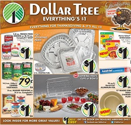 Dollar Tree pre-Black Friday Deals 2013. Everything's $1