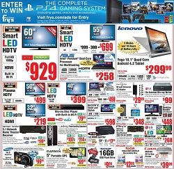 Frys Hot Early Black Friday Deals. HDTVs and Yoga Tablet Sale