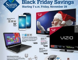 Sams Club Black Friday 2013 Deals