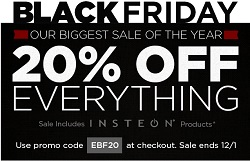 Smarthome Black Friday 2013 Deals - 20% Off Entire Everything with Promo Code