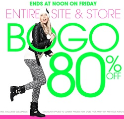 Wet Seal Black Friday 2013 Deals