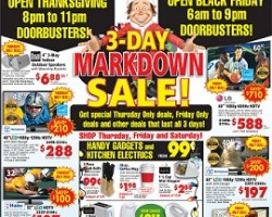 ABC Warehouse Black Friday 2013 Ad