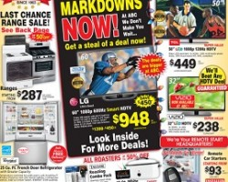 ABC Warehouse Black Friday 2013 Markdowns Now! Up To 65% OFF Storewide