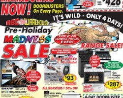ABC Warehouse Black Friday 2013 – Pre-Holiday Madness Sale!