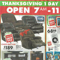 Big Lots Thanksgiving 2013 Deals – Simmons Recliners Midtown or Malibu