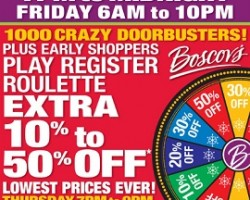 Boscov's Black Friday 2013 Deals – Board Games and Puzzles, Avia Athletic Footwear