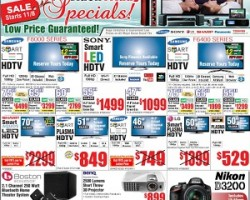 Fry's Pre-Black Friday Deals 2013 – Samsung 60″ Class 3D LED TV with WiFi