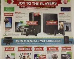 GameStop Black Friday 2013 Deals – Microsoft Xbox, Sony Playstation 3 Bundle Sale