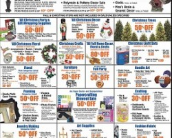 Hobby Lobby Black Friday 2013 Deals – Christmas Light Sets and Gift Wrapping