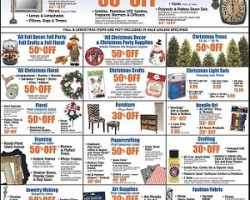 Hobby Lobby Pre-Black Friday – Christmas Trees & Crafts Sale!