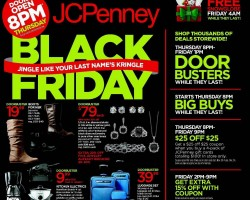 JC Penney Black Friday Deals – Everyday White Dinnerware, Jewelry, Boots for Her