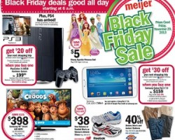 Meijer Black Friday Deals 2013. Disney Princess Sparkle dolls