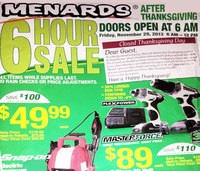Menards Black Friday Deals 2013 – Masterforce 2-piece Power Drill Sale