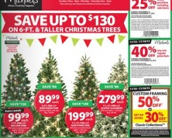 Michaels Pre-Black Friday Deals 2013. Christmas Trees Sale!