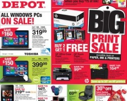 Office Depot Early Black Friday 2013 – Kindle Fire HD 8.9″ Tablet