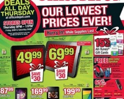 Office Depot Black Friday 2013 Deals – Kindle Fire 8.9″ HD 16GB Tablet