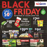 PetSmart Black Friday Deals – All Reptiles, Guinea Pigs and Dwarf Hamsters