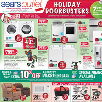 Sears Outlet Black Friday Deals 2013. Stainless Steel Refrigerator Sale!