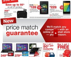 Staples Deals November 2013 – Up To 50% OFF on All HP Printers