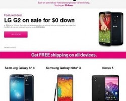 T-Mobile Black Friday 2013 Deals – Samsung Galaxy Note 3, LG G2, Nokia Lumia 925