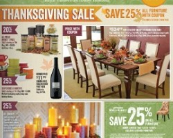World Market Pre-Black Friday – Thanksgiving Sale 25% OFF All Furniture