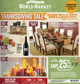 World Market Pre Black Friday U2013 Thanksgiving Sale 25% OFF All Furniture