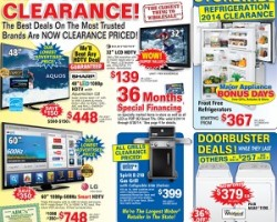 ABC Warehouse Pre-Black Friday 2014 Deals – End-Of-Summer Clearance!