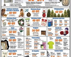 hobby lobby pre black friday 2014 deals christmas trees crafts decor sale