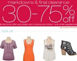 Maurices Pre-Black Friday 2014 Deals – 40% OFF Fab Fall Sale!