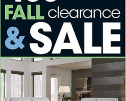 Rooms To Go Pre-Black Friday 2014 Deals – Fall Clearance & Sale!
