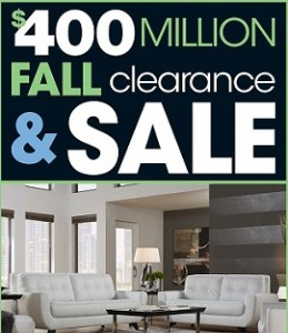 Rooms To Go Pre-Black Friday 2014 Deals - Fall Clearance & Sale!