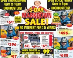 ABC Warehouse Black Friday 2014 Ad Sale – Samsung 65″ LED Smart HDTV