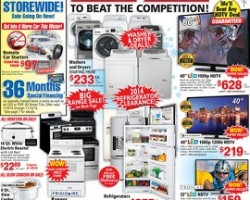"ABC Warehouse Early Black Friday 2014 Deals – Element 40"" LED HDTV"