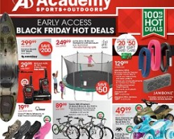 Academy Sports Early Access Black Friday 2014 Hot Deals