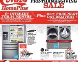 Conn's Black Friday 2014 Pre-Thanksgiving Sale!