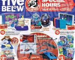 Five Below Black Friday 2014 Ad – Infrared Remote Control Helicopter Sale!