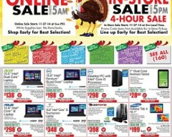 Fry's Electronics Black Friday 2014 Ad Sale – Dell 15.6″ Laptop Sale!