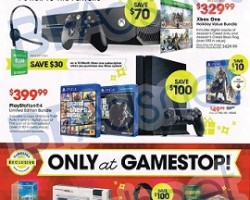 GameStop Black Friday 2014 Ad – Xbox One w/ Kinect Holiday Value Bundle