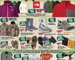 Gander Mountain Black Friday 2014 Ad – The North Face, Columbia Jacket Sale!