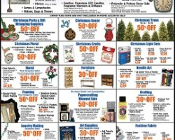 Hobby Lobby Black Friday 2014 Ad – Christmas Trees & Decor