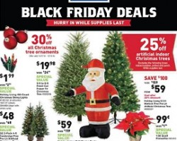 lowes black friday 2014 ad sale fresh cut fraser fir christmas tree - Black Friday Deals On Christmas Trees