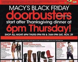 Macy's Black Friday 2014 Ad Sale – KitchenAid Classic Plus Stand Mixer