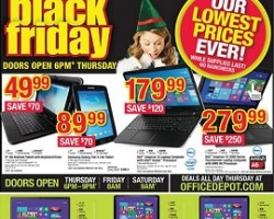 Office Depot & OfficeMax Black Friday 2014 Ad Sale!