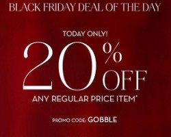 Pottery Barn Black Friday Deals 2017